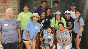 Joven latina crece con una misión